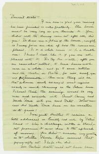 Dorothy Foster papers, Folder 6