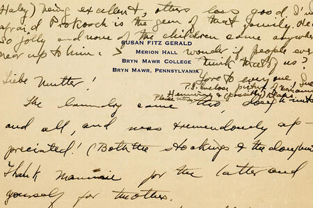Susan FitzGerald Papers
