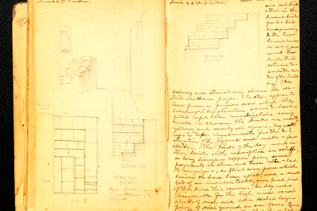 Joseph A. Meyer notebook on the Excavation of Nippur