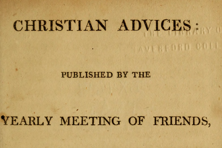 Philadelphia Yearly Meeting publications