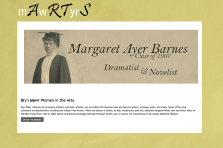 Bryn Mawr College Web Archives Collection