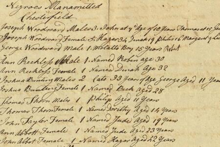 Chesterfield Monthly Meeting Records